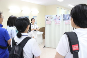実習室1見学4